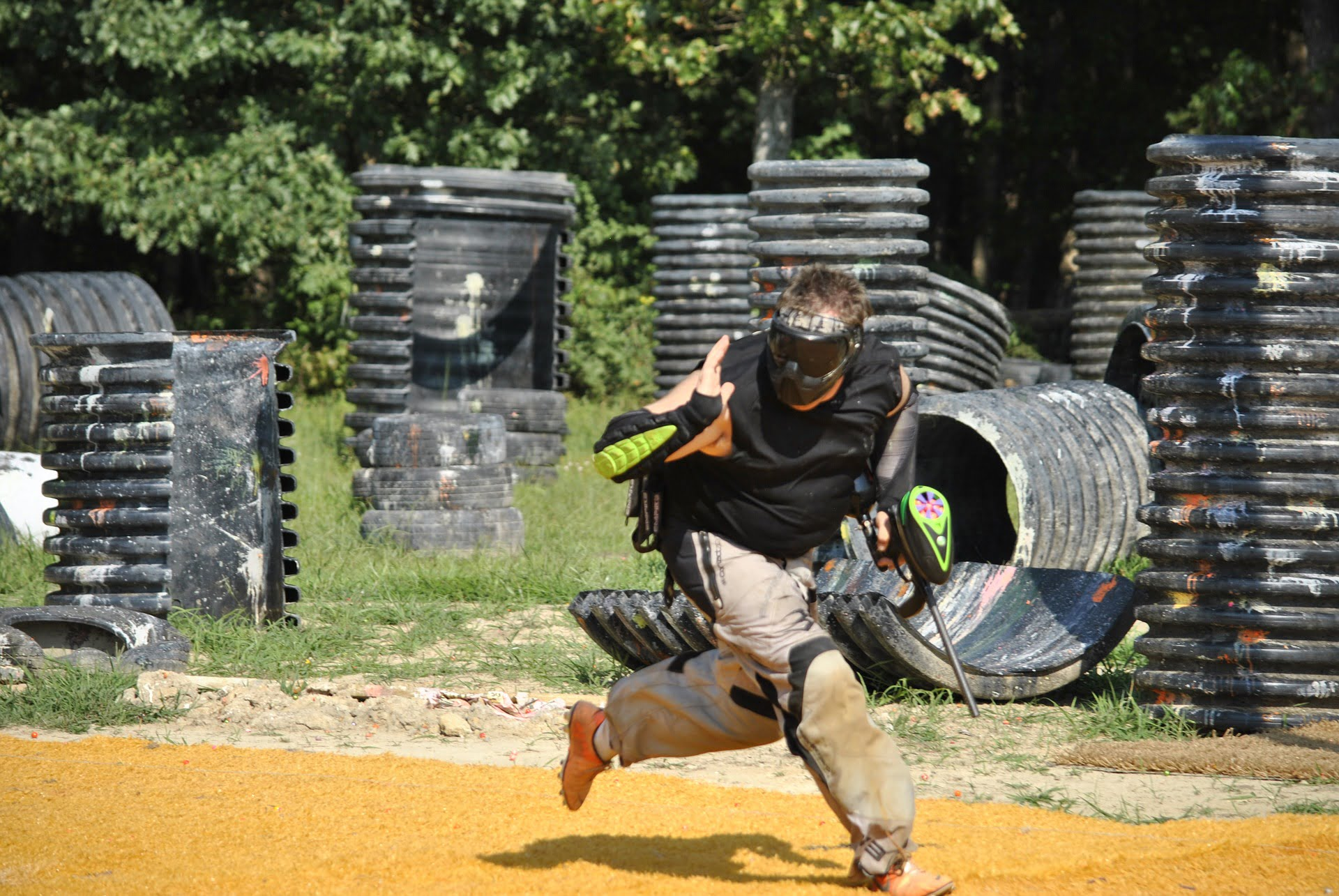 paintball extreme sport